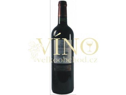 Chateau David Beaulieu AOC 0,75 L suché francouzské červené víno z Bordeaux