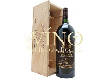 Chateau Aney AOC 1,5 l suché francouzské červené víno z Bordeaux Haut - Medoc