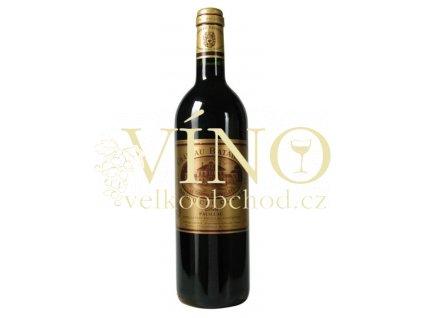 Chateau Batailley Grand Cru Classé 2015 AOC 0,75 l suché francouzské červené víno z Bordeaux Pauillac