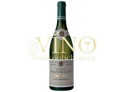 Domaine Faiveley Mercurey Clos Rochette Faiveley AOC 0,75 l suché francouzské bílé víno z Bourgogne Mercurey