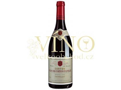 Domaine Faiveley Clos de Cortons GC Faiveley 0,75 L suché francouzské červené víno z Bourgogne