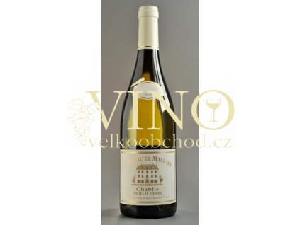 Jean Durup Chateau Maligny Chablis Vieilles Vignes 0,75 l suché francouzské bílé víno z Bourgogne Chablis