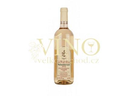 ZD Sedlec Rulandské šedé 2013 pozdní sběr 0,75 L suché moravské bílé víno (31/14)