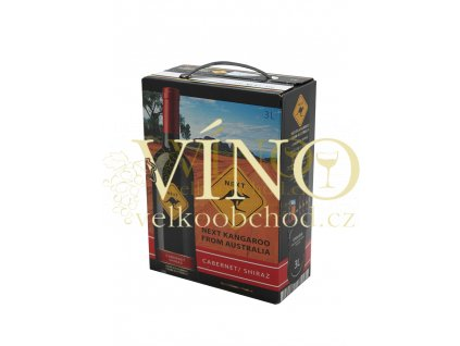 Next Kangaroo Cabernet - Shiraz BIB 3 l australské červené víno bag in box