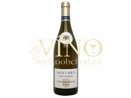 Simonnet Febvre Saint Bris Sauvignon Millesime AOC 0,75 L suché francouzské bílé víno z Bourgogne Chablis