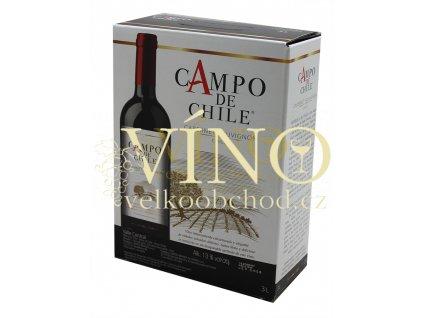 Campo de Chile Cabernet Sauvignon BIB 3 l chilské červené víno bag in box 3 l