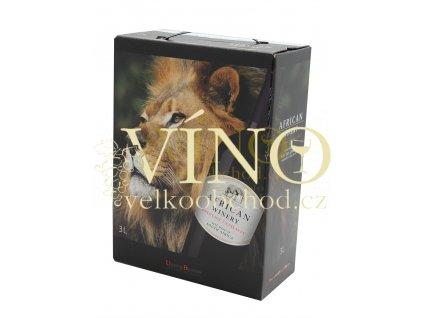 Víno African Winery Pinotage Cinsault BIB 3 l africké červené bag in box