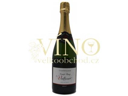 Champagne Comte Remy de Vallicourt brut 0,75 l francouzské šampaňské