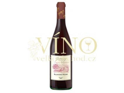 Gotberg Rulandské modré 2013 výběr z hroznů 0,75 L suché moravské červené víno