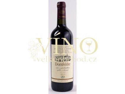Rodinné vinařství Jedlička Bořetice Dornfelder 2013 výběr z hroznů 0,75 L suché moravské červené víno