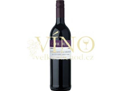 Carl Jung Cabernet Sauvignon dealcoholized nealkoholické 0,75 l suché německé červené víno