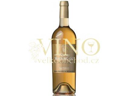 Baron Philippe de Rothschild Reserve Mouton Cadet Sauternes Blanc 2011 0,75 L francouzské sladké bílé víno z oblasti Bordeaux