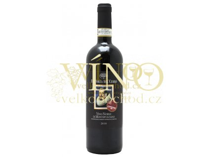 Fattoria del Cerro Vino Nobilo di Montepulciano DOCG 0,75 L 2012 červené italské víno z Toskánska