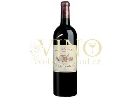 Château Margaux Pavillon Rouge 2010 0,75 l suché francouzské červené víno z oblasti Bordeaux