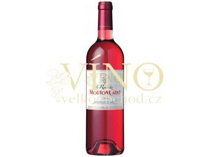 Baron Philippe de Rothschild Mouton Cadet Le Rosé 2012 0,75 L francouzské růžové víno z oblasti Bordeaux