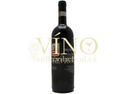 Salvioni Brunello di Montalcino DOCG 2013 0,75 l italské červené víno z oblasti Toscana