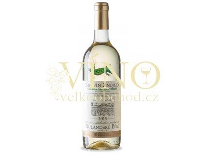 Znovín Znojmo Lacerta Viridis Rulandské bílé 2017 pozdní sběr 0,75 l suché bílé víno