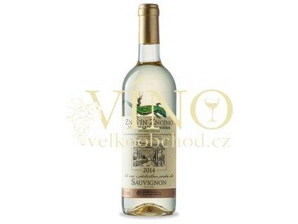 Znovín Znojmo Lacerta Viridis Sauvignon 2017 pozdní sběr 0,75 l suché moravské bílé víno