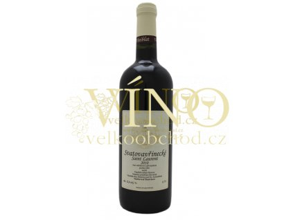 Vinařství Cícha Antonín Svatovavřinecké 2015 pozdní sběr 0,75 l suché moravské červené víno