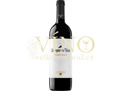 Torres Sangre de Toro Tempranillo 0,75 l španělské červené suché víno