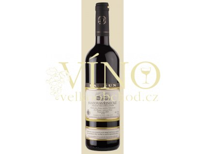Baloun Svatovavřinecké 2016 pozdní sběr 0,75 l suché moravské červené víno 16043
