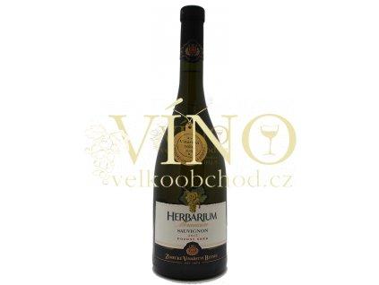 Zámecké vinařství Bzenec Herbarium Moravicum Sauvignon 2015 pozdní sběr 0,75 l suché bílé víno