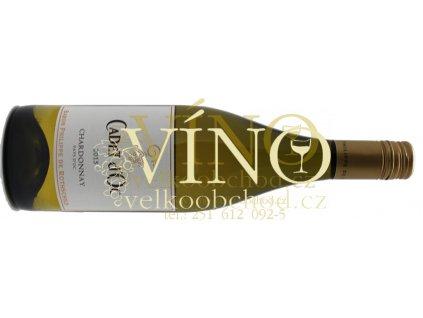 Akce ihned Baron Philippe de Rothschild Cadet d´OC Chardonnay BPHR 2016 0,75 L francouzské bílé víno z oblasti Languedoc-Roussillion