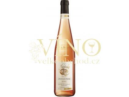 Habánské sklepy Zweigeltrebe Rosé jakostní 0,75 l suché růžové víno