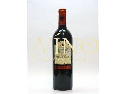 Veyret Latour Chateau Arnaud Jouan Cuvée Prestige AOC 0,75 L suché francouzské červené víno z Bordeaux