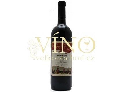 Matrobela Wines Pirosmani 0,75 l polosuché gruzínské červené víno 12,5%