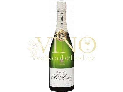 Champagne Pol Roger Brut Réserve 0,75 l francouzské šampaňské