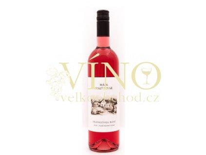 Mádl František Frankovka rosé 2018 kabinet 0,75 l suché růžové víno