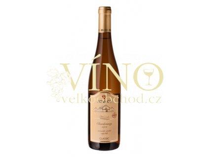 Vinařství Kovacs Chardonnay Classic 2014 zemské 0,75 l polosuché bílé víno (34/14)