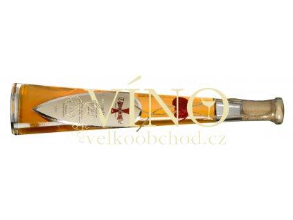 Templářské sklepy Zweigeltrebe 2013 ledové 0,2 L sladké moravské růžové víno