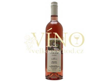 Mádl František Clasic Cuvée Rosé 2019 zemské 0,75 l polosuché růžové víno