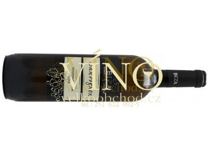 Akce ihned Bíza Sauvignon 2015 pozdní sběr 0,75 l suché moravské bílé víno poslední láhev