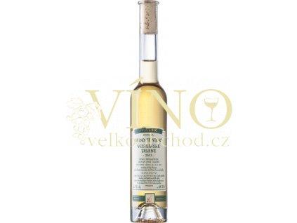 Špalek Veltlínské zelené přírodní 2017 Kraví hora - zahrádky ledové víno sladké 0,2 l