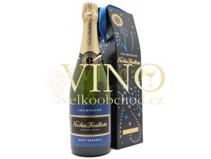 Champagne Nicolas Feuillatte Brut Reserve 0,75 l in festive giftbox