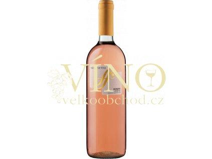 Sacchetto Rosato Marca Trevigiana IGT italské růžové víno z oblasti Veneto