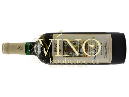 Akce ihned Vinné sklepy Maršovice Frankovka 2016 zemské 0,75 l polosladké červené víno