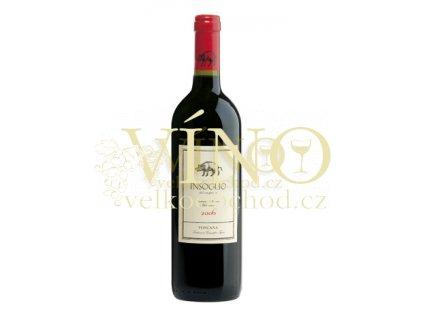 Tenuta di Biserno Insoglio del Cinghiale Bolgheri IGT italské červené víno z oblasti Toscana