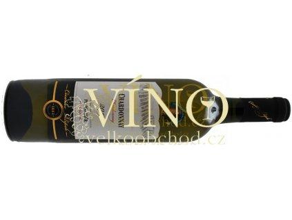 Akce ihned Vinařství Carkov Císařův Sklípek Chardonnay 2013 pozdní sběr 0,75 l polosuché bílé víno