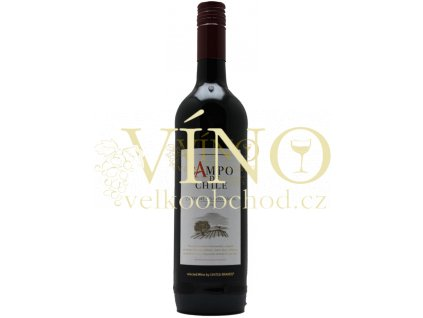 Campo de Chile Cabernet Sauvignon 0,75 l chilské červené víno