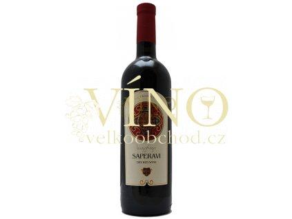 GSG Pirosmani 0,75 l gruzínské červené polosuché víno