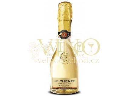 J.P.Chenet Demi  sec 0,2 l francouzské bílé polosuché šumivé víno