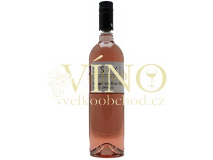 Kosík vinařství z Tvrdonic Zweigeltrebe rosé 2017 zemské 0,75 l suché růžové víno