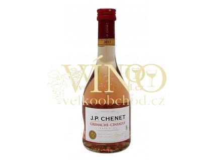 J.P.Chenet Grenache - cinsault rosé 0,25 l suché francouzské růžové víno