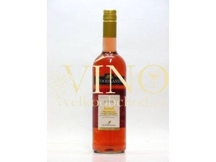 Woodlands Winery Shiraz Rosé 0,75 l suché australské růžové víno z Riverina