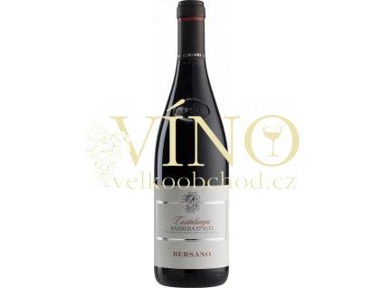 Bersano Barbera d'Asti Costalunga DOC italské červené víno z Piemonte