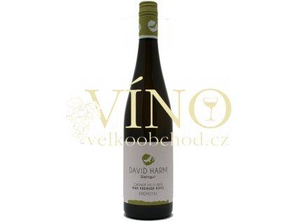 David Harm Gruner Veltliner Ried Kremsel Kogl 0,75 l suché rakouské bílé víno